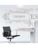 Wall Stencil Poster 003 Tiempo es Dinero
