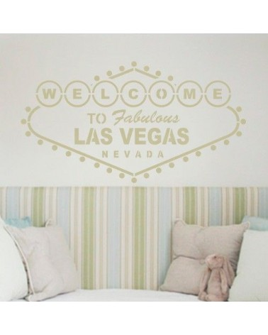 Stencil Home Decor Cartel 004 Las Vegas