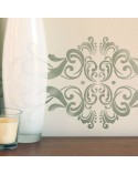 <p>Large format stencils for decorating rooms, walls, ceilings, furniture, curtains, carpets, cushions, etc.</p><p><ul><li>(S) 50 x 25cm - Design 48 x 23cm</li><li>(M) 70 x 35cm - Design 68 x 33cm</li><li>(L) 90 x 45cm - Design 88 x 42,5cm</li></ul></p>