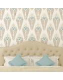 <p>Plantillas de gran formato para la decoración de habitaciones, paredes, techos, muebles, cortinas, alfombras, cojines, etc</p><p><ul><li>(S) 50 x 50cm - Diseño 48 x 48cm</li><li>(M) 50 x 70cm - Diseño 48 x 68cm</li><li>(L) 60 x 84cm - Diseño 58 x 82cm</li></ul></p>
