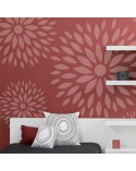 Wall Stencil Floral 003 Flowers