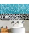 <p>Plantillas de gran formato para la decoración de habitaciones, paredes, techos, muebles, cortinas, alfombras, cojines, etc</p><p><ul><li>(S) 50 x 50cm - Diseño 48 x 48cm</li><li>(M) 50 x 70cm - Diseño 48 x 68cm</li><li>(L) 70 x 90cm - Diseño 68 x 88cm</li></ul></p>