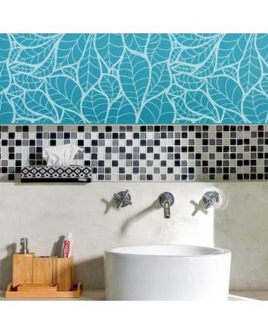 Stencil Home Decor Floral 004 Hojas