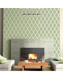 <p>Plantillas de gran formato para la decoración de habitaciones, paredes, techos, muebles, cortinas, alfombras, cojines, etc</p><p><ul><li>(S) 50 x 50cm - Diseño 48 x 48cm</li><li>(M) 50 x 70cm - Diseño 48 x 68cm</li><li>(L) 60 x 90cm - Diseño 58 x 88cm</li></ul></p>