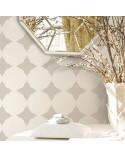 <p>Plantillas de gran formato para la decoración de habitaciones, paredes, techos, muebles, cortinas, alfombras, cojines, etc</p> <ul> <li>(S) 50 x 50cm - Diseño 48 x 48cm</li> <li>(M) 50 x 70cm - Diseño 48 x 68cm</li> <li>(L) 60 x 90cm - Diseño 58 x 88cm</li> </ul>