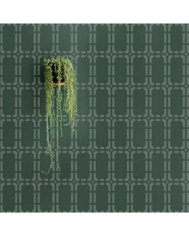 Wand Stencil Geometrie 009 Sixties 3
