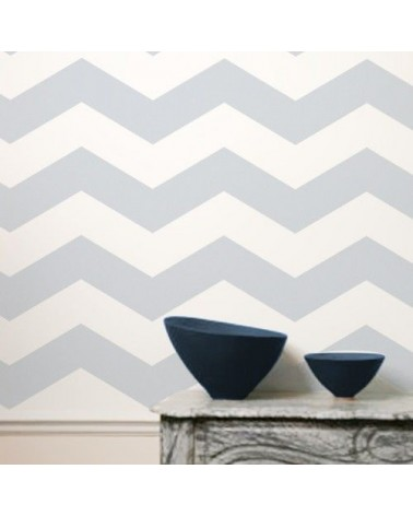 Stencil Pared Geometrico 012 Chevron-1