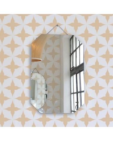 Stencil Home Decor Geometrico 018 Círculos Picudos