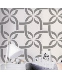 <p>Large format stencils for decorating rooms, walls, ceilings, furniture, curtains, carpets, cushions, etc.</p><p><ul><li>(S) 50 x 50cm - Design 48 x 48cm</li><li>(M) 50 x 70cm - Design 48 x 68cm</li><li>(L) 60 x 84cm - Design 62 x 82cm</li></ul></p>