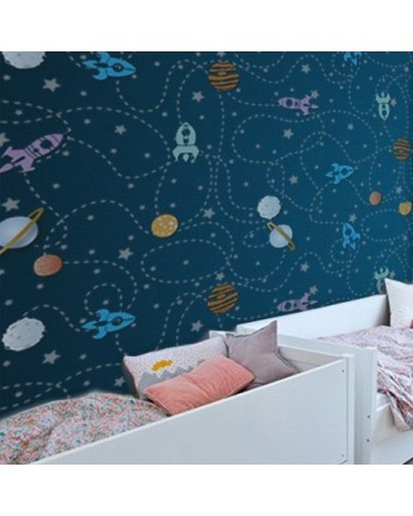 Home Decor Stencil Kids 002 Rockets