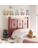 <p>Plantillas de gran formato para la decoración de habitaciones, paredes, techos, muebles, cortinas, alfombras, cojines, etc</p> <ul> <li>(S) 125 x 41cm - Diseño 125 x 41cm</li> </ul>