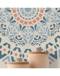<p>Plantillas de gran formato para la decoración de habitaciones, paredes, techos, muebles, cortinas, alfombras, cojines, etc</p><p><ul><li>(S) 30 x 30cm - Diseño 28 x 28cm</li><li>(M) 50 x 50cm - Diseño 48 x 48cm</li><li>(L) 70 x 70cm - Diseño 68 x 68cm</li><li>(XL) 90 x 90cm - Diseño 88 x 88 cm</li></ul></p>