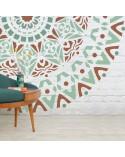 <h2>Stencil Home Decor Roseton 002 Mandala</h2> <p>Plantillas de gran formato para la decoración de habitaciones, paredes, techos, muebles, cortinas, alfombras, cojines</p> <ul> <li>Tamaño pequeño: <ul> <li>stencil 50x50cm</li> <li>diseño 48x48cm</li> <li>figura 48x48cm</li> </ul> </li> <li>Tamaño mediano: <ul> <li>stencil 60x60cm</li> <li>diseño 58x58cm</li> <li>figura 58x58cm</li> </ul> </li> <li>Tamaño grande: <ul> <li>stencil 90x90cm</li> <li>diseño 88x88cm</li> <li>figura 88x88cm</li> </ul> </li> </ul>