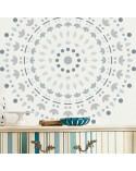 <p>Plantillas de gran formato para la decoración de habitaciones, paredes, techos, muebles, cortinas, alfombras, cojines, etc</p><p><ul><li>(S) 30 x 30cm - Diseño 28 x 28cm</li><li>(M) 50 x 50cm - Diseño 48 x 48cm</li><li>(L) 60 x 60cm - Diseño 58 x 58cm</li><li>(XL) 90 x 90cm - Diseño 88 x 88 cm</li></ul></p>