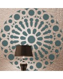 <p>Large format stencils for decorating rooms, walls, ceilings, furniture, curtains, carpets, cushions, etc.</p><p><ul><li>(S) 30 x 30cm - Design 28 x 28cm</li><li>(M) 50 x 50cm - Design 48 x 48cm</li><li>(L) 60 x 60cm - Design 58 x 58cm</li><li>(XL) 90 x 90cm - Design 88 x 88 cm</li><li>(Kit): Includes all stencil sizes.cm</li></ul></p>