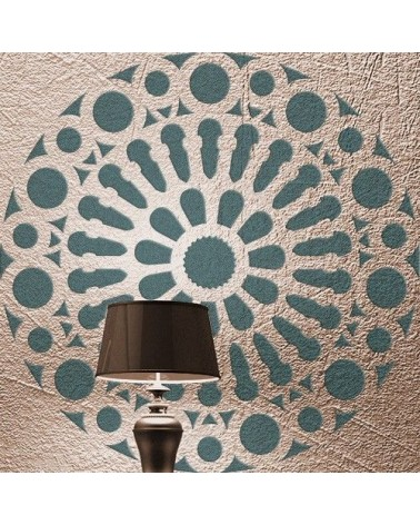 Stencil Home Decor Roseton 005