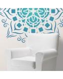 <h2>Wand Stencil Rosette 010</h2> <p>Ungefähre Grössen:</p> <ul> <li>Stencil: 90 x 90 cm</li> <li>Design: 82 x 82 cm</li> </ul> <p>* Figur der gewünschten Grösse.</p>