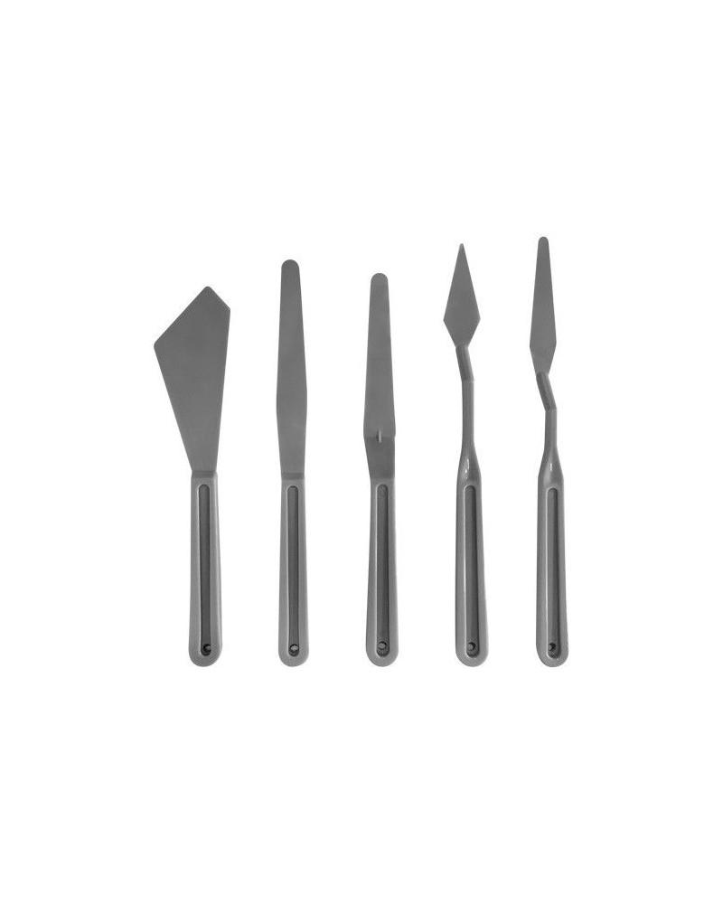 Kit Espátulas de Plástico para Artistas