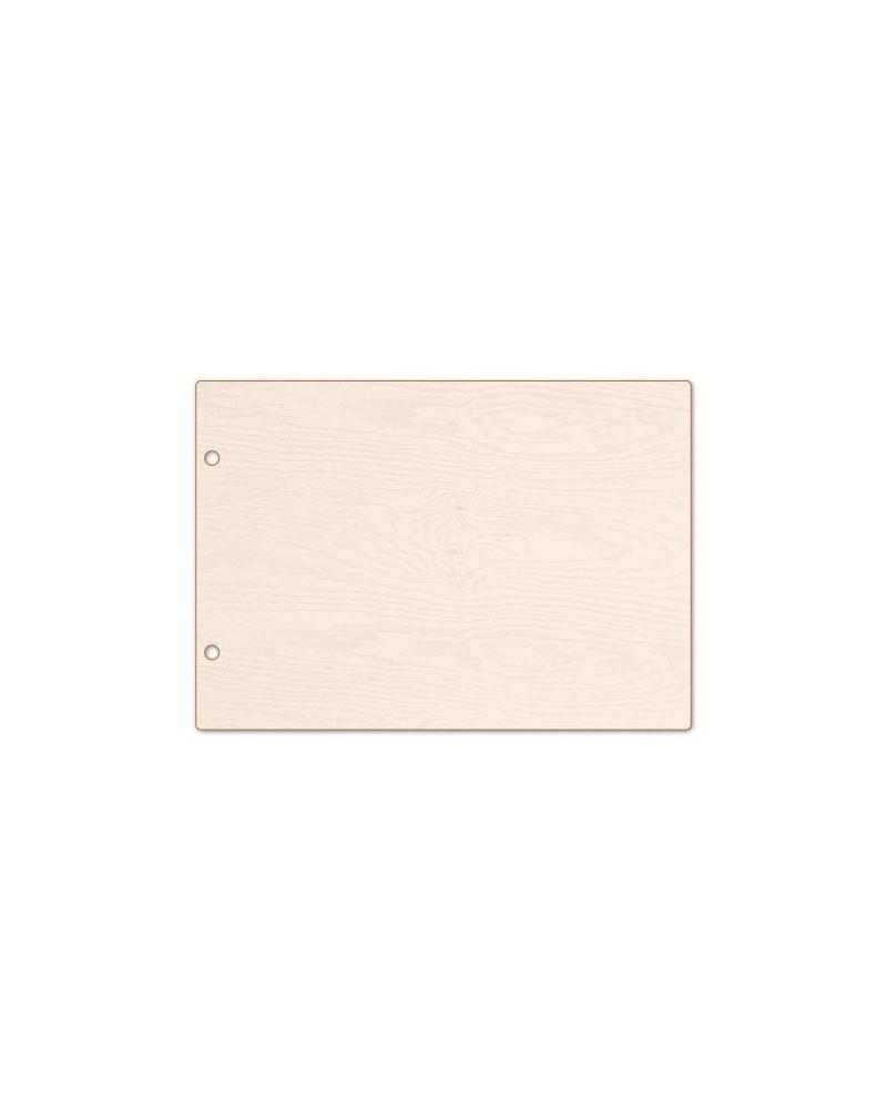 Álbum 002 Madera DM A5 encuadernacion anillas