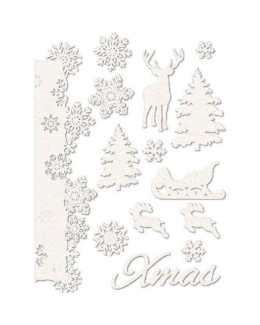 Chipboard Sheet 009 Christmas