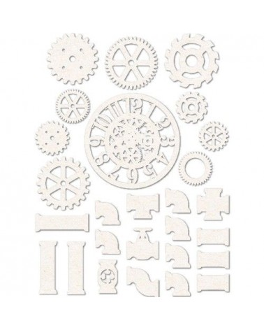 Chipboard Sheet 010 Gears