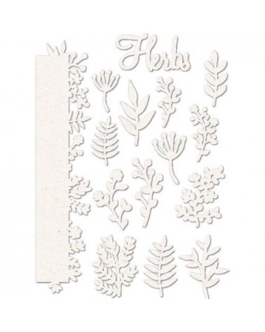 Chipboard Sheet 011 Herbs