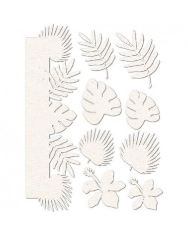 Chipboard Sheet 012 Leaves