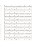 Set Siluetas Cartón 019 Pared ladrillos