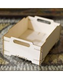 <h1>3d Wood 015 Stackable Box</h1> <ul> <li>(S) 12 x 16 x 6,5 cm</li> <li>(M) 18 x 24 x 9,75 cm</li> </ul>