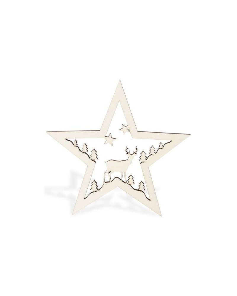 Wood Board 063 Deer Star