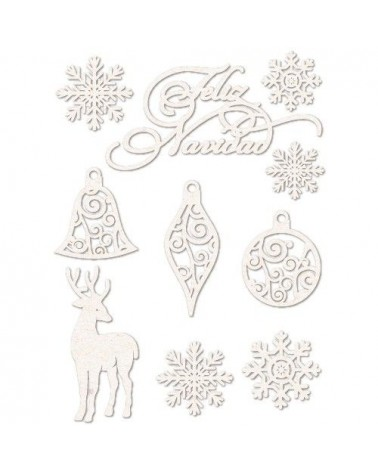 Chipboard Sheet 002 Merry Christmas