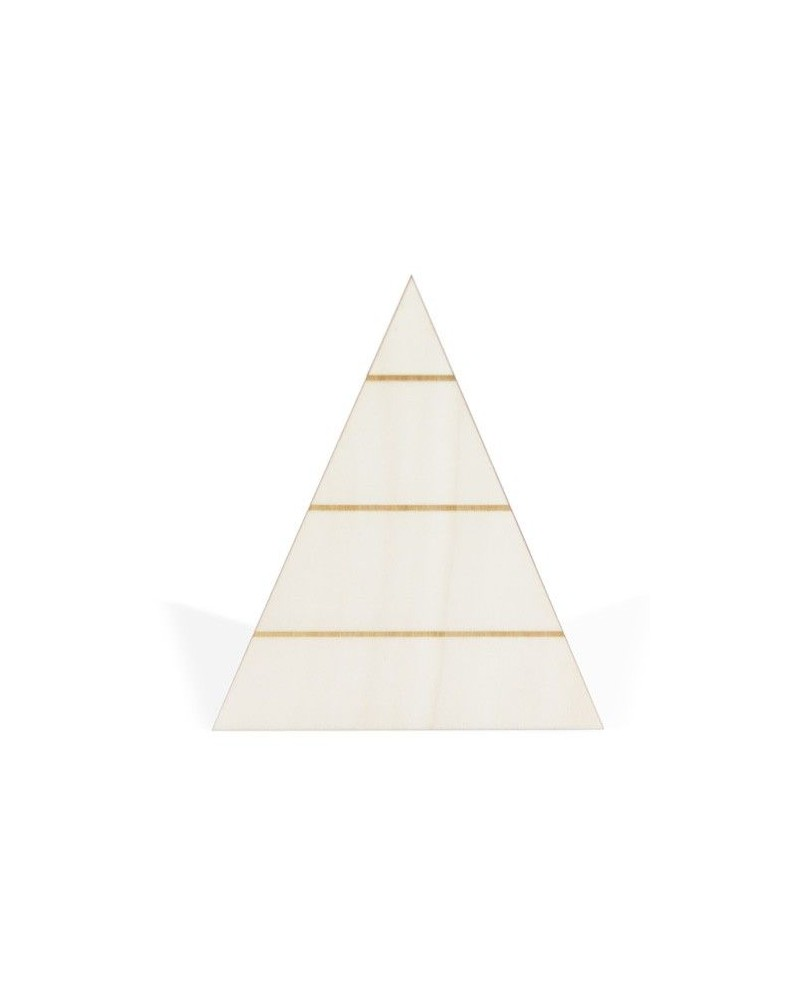 Soporte Madera 062 Triángulo Listones