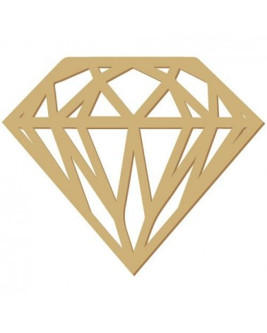 Wood Shape 174 Diamond