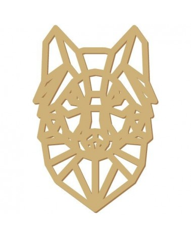 Wood Shape 176 Wolf