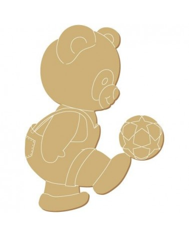 Wood Shape 181 Little Bear Balon