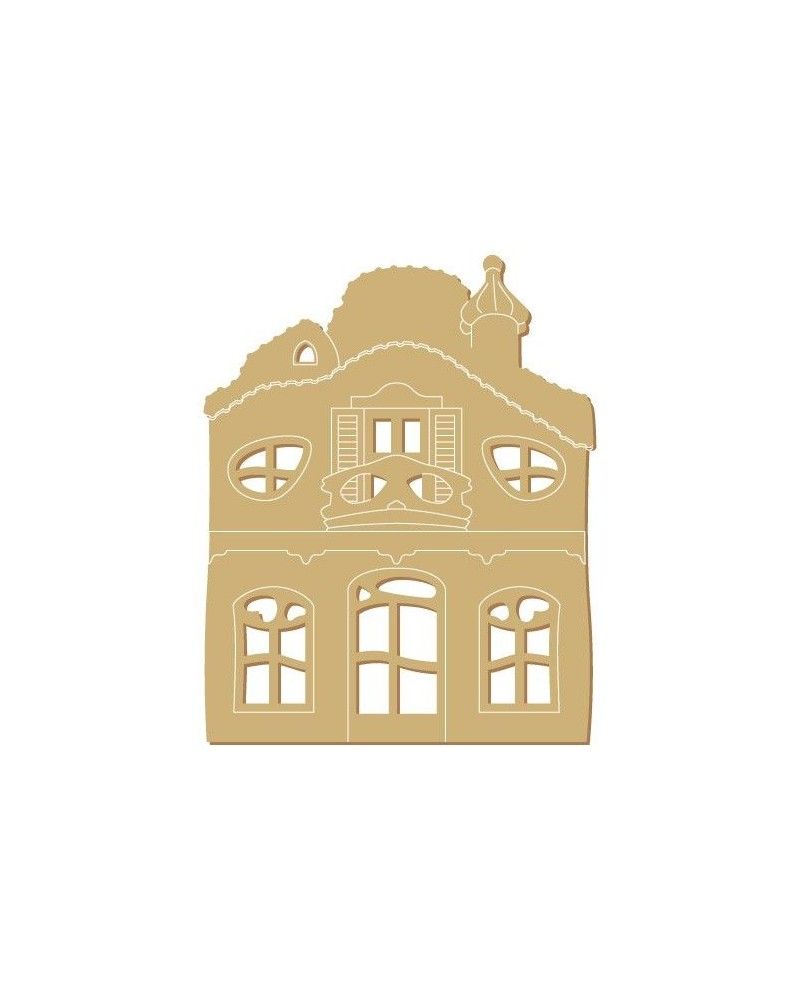 Silueta Figura 183 Casa Modernista 2