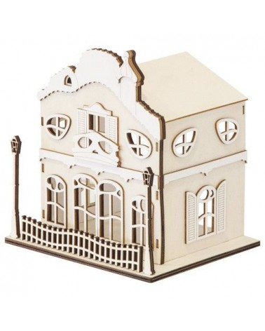 Soporte 3D 023 Casa Modernista