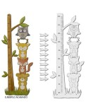 <h1>Wood Board 074 Infant Meter Animals</h1><p><ul><li>(S) 40 x 100 cm</li></ul></p>
