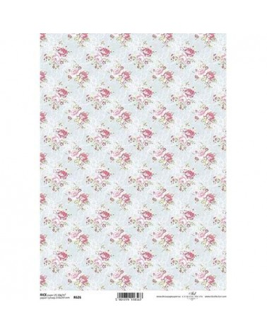 Papel de Arroz Decoupage R626 A4