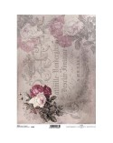 Papel de Arroz Decoupage R719 A4