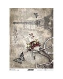 Papel de Arroz Decoupage R725 A4