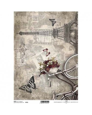 Papel de Arroz Decoupage R0725 A4