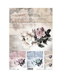 Papel de Arroz Decoupage R737 A4