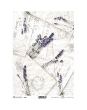 Papel de Arroz Decoupage R742 A4