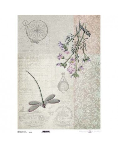 Papel de Arroz Decoupage R0135L A3