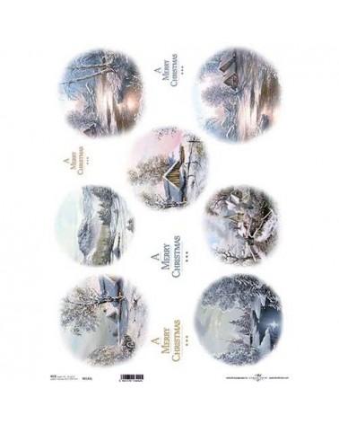 Papel de Arroz Decoupage R0142L A3