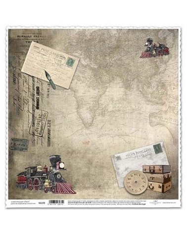 Papel Scrapbooking SCL572 315x325mm