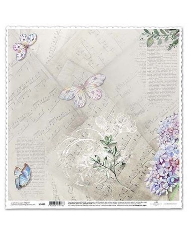 Papel Scrapbooking SCL580 315x325mm