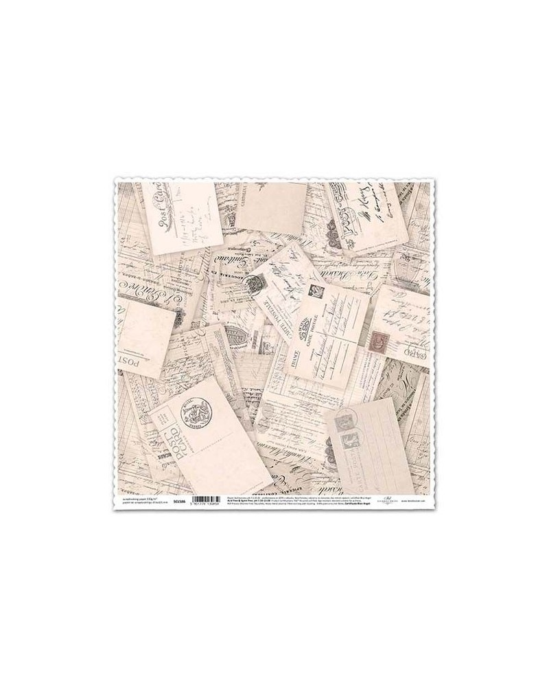 Papel Scrapbooking SCL586 315x325mm