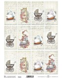 Papel Scrapbooking TAG041 A4